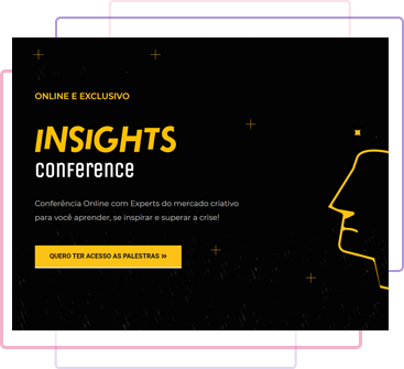 exemplo do template do site insights